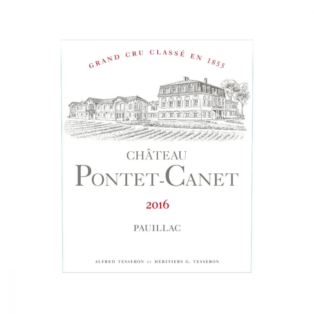 Château Pontet Canet Etikett