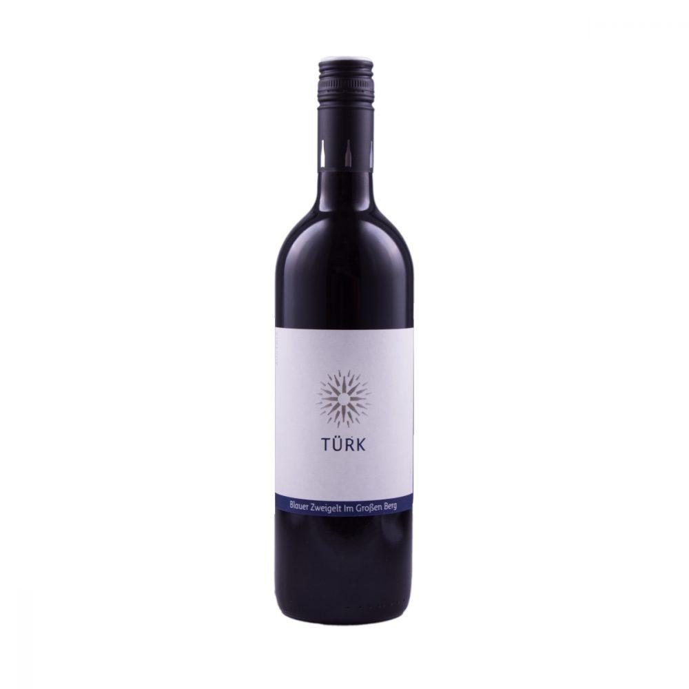 Weingut Türk Blauer Zweigelt Im großen Berg