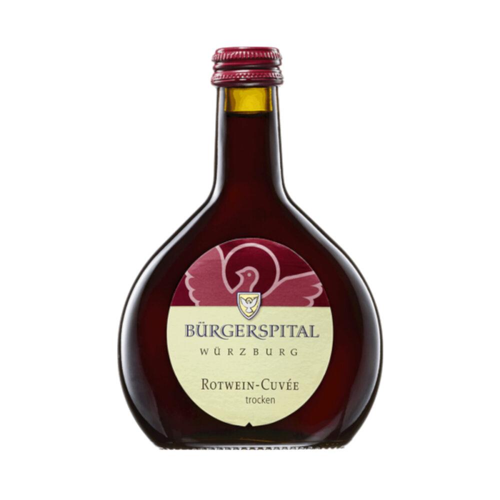 Bürgerspital Rotwein-Cuvée trocken Minibocksbeutel